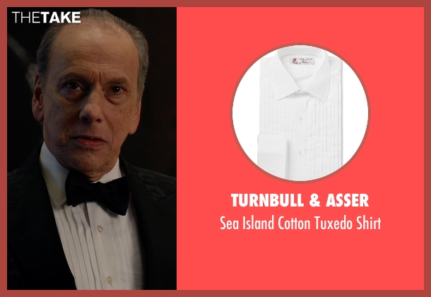 Turnbull & Asser white shirt from Spy seen with Raad Rawi (Unknown Character)