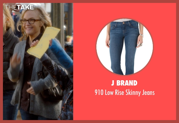 J Brand blue jeans from Barely Lethal seen with Rachael Harris (Mrs. Larson)