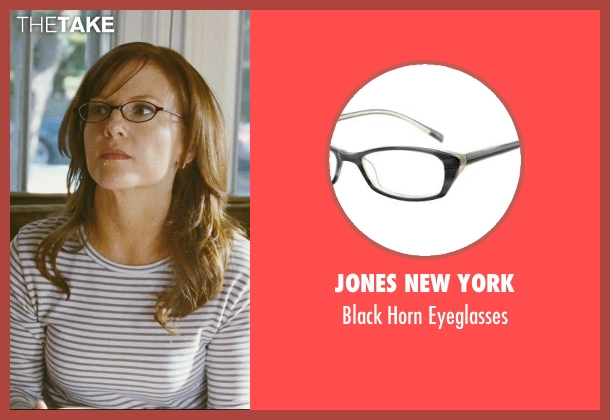 Jones New York black eyeglasses from The Hangover seen with Rachael Harris (Melissa)