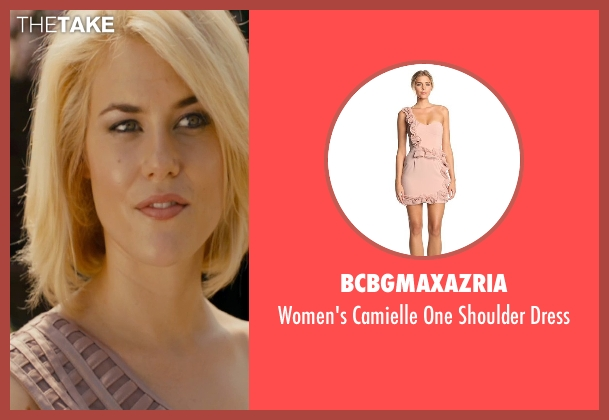BCBGMAXAZRIA beige dress from The Loft seen with Rachael Taylor (Anne Morris)