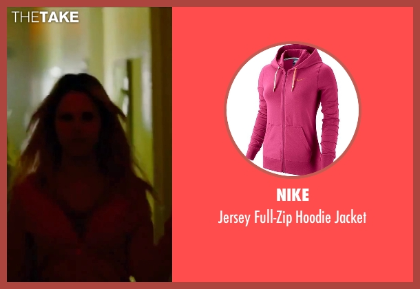Nike pink jacket from Spring Breakers seen with Rachel Korine (Cotty)