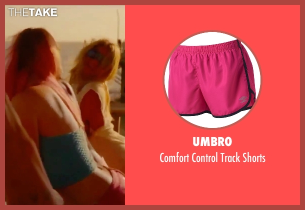 Umbro pink shorts from Spring Breakers seen with Rachel Korine (Cotty)