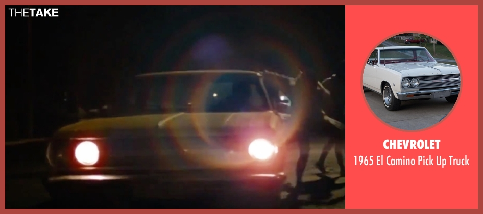 Chevrolet truck from Spring Breakers seen with Rachel Korine (Cotty)