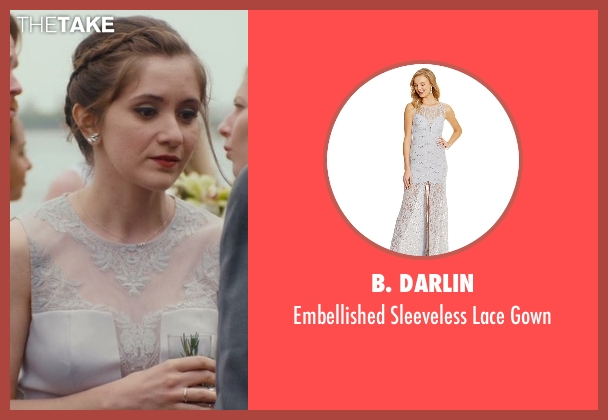B. Darlin gray gown from Master of None seen with Rachel (Noël Wells)