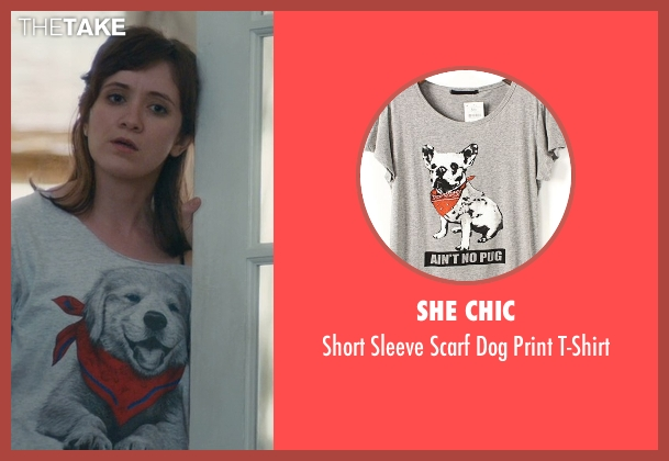 She Chic gray t-shirt from Master of None seen with Rachel (Noël Wells)