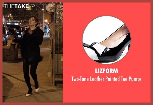 Lizform pumps from Master of None seen with Rachel (Noël Wells)