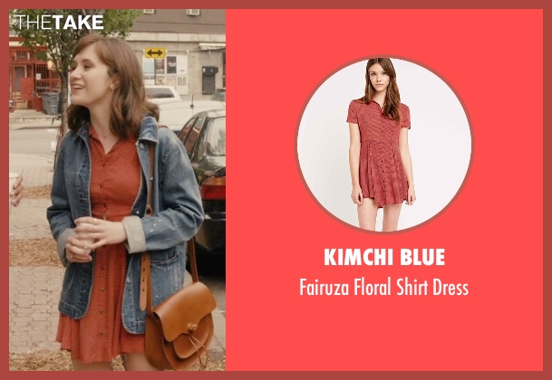 Kimchi Blue red dress from Master of None seen with Rachel (Noël Wells)