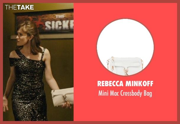 rachel 39 s white rebecca minkoff mini mac crossbody bag from master of none season 1 episode 10. Black Bedroom Furniture Sets. Home Design Ideas