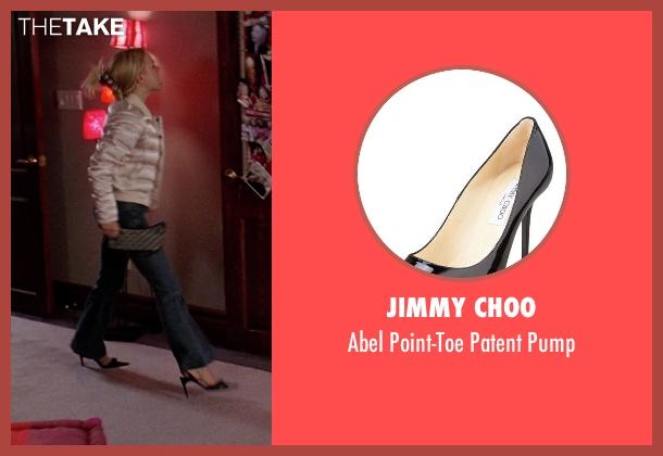 Jimmy Choo black pump from Mean Girls seen with Rachel McAdams (Regina George)