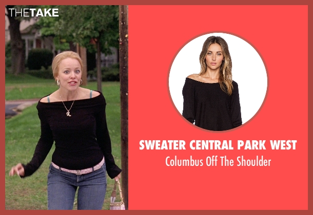 Sweater Central Park West black shoulder from Mean Girls seen with Rachel McAdams (Regina George)