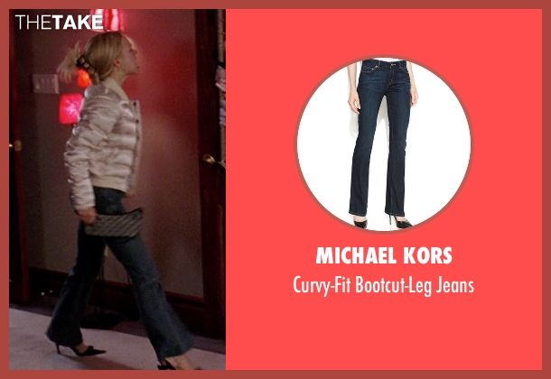 Michael Kors blue jeans from Mean Girls seen with Rachel McAdams (Regina George)