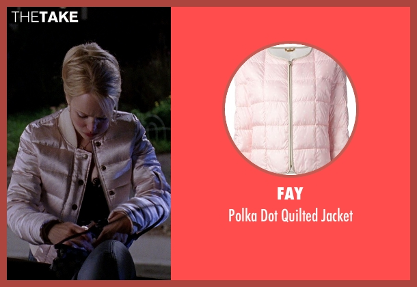Fay pink jacket from Mean Girls seen with Rachel McAdams (Regina George)