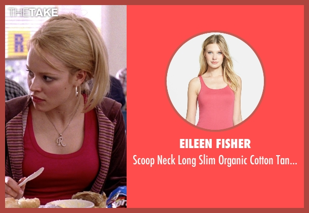 Eileen Fisher pink top from Mean Girls seen with Rachel McAdams (Regina George)