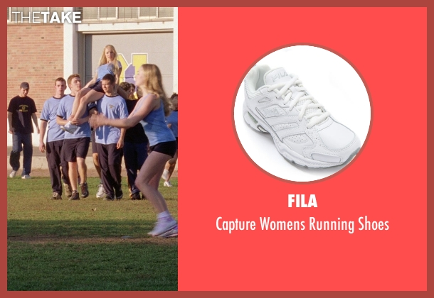 Fila white shoes from Mean Girls seen with Rachel McAdams (Regina George)