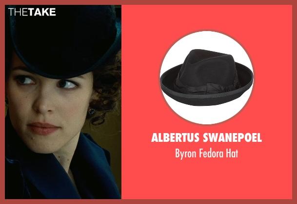 Albertus Swanepoel black hat from Sherlock Holmes: A Game of Shadows seen with Rachel McAdams (Irene Adler)
