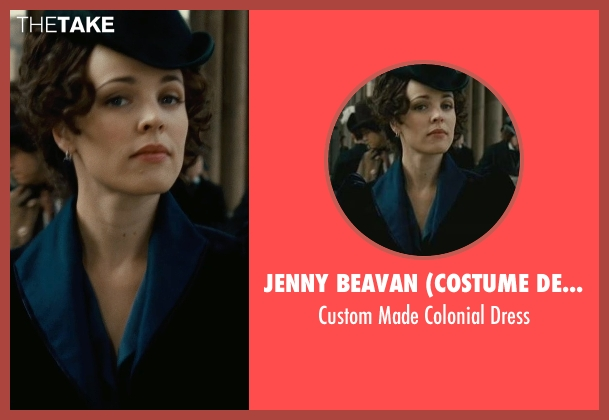 Jenny Beavan (Costume Designer) dress from Sherlock Holmes: A Game of Shadows seen with Rachel McAdams (Irene Adler)