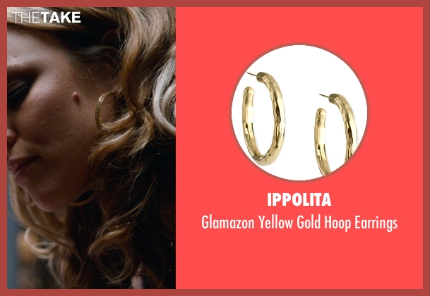 Ippolita	 gold earrings from Southpaw seen with Rachel McAdams (Maureen Hope)