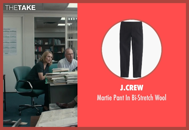 J.Crew black wool from Spotlight seen with Rachel McAdams (Sacha Pfeiffer)