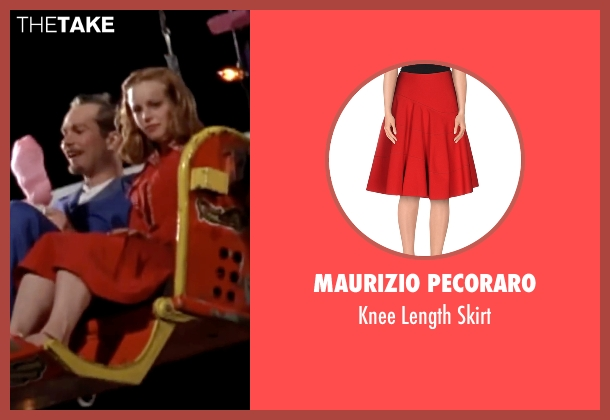 Maurizio Pecoraro red skirt from The Notebook seen with Rachel McAdams (Allie)