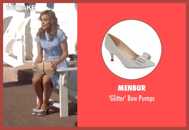 Menbur silver pumps from The Notebook seen with Rachel McAdams (Allie)