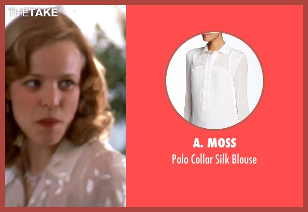A. Moss  white blouse from The Notebook seen with Rachel McAdams (Allie)