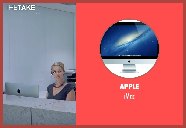 Apple imac from Fifty Shades of Grey seen with Rachel Skarsten (Andrea)