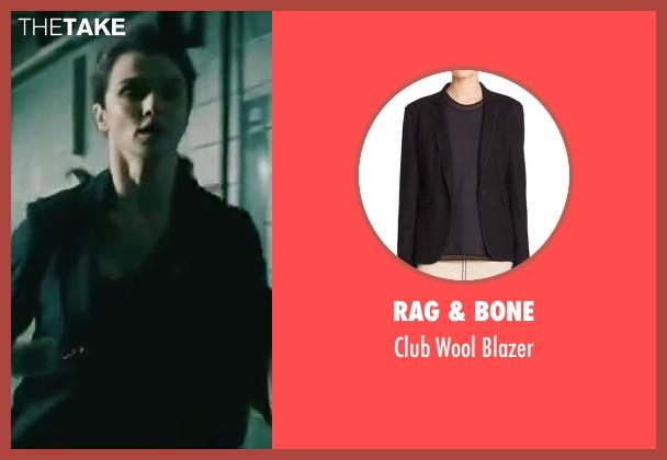 Rag & Bone black blazer from The Bourne Legacy seen with Rachel Weisz (Dr. Marta Shearing)