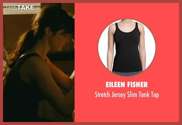 Eileen Fisher black top from The Bourne Legacy seen with Rachel Weisz (Dr. Marta Shearing)