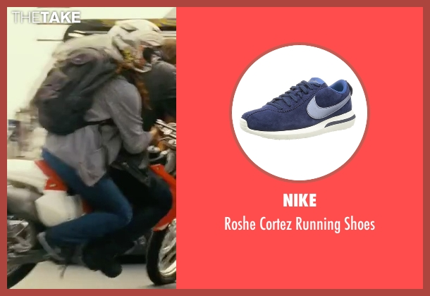 Nike blue shoes from The Bourne Legacy seen with Rachel Weisz (Dr. Marta Shearing)