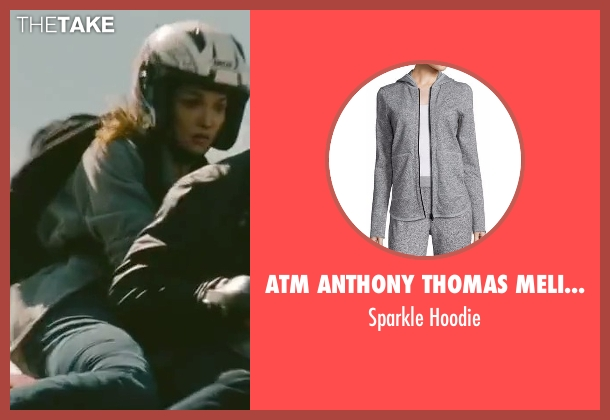 ATM Anthony Thomas Melillo gray hoodie from The Bourne Legacy seen with Rachel Weisz (Dr. Marta Shearing)