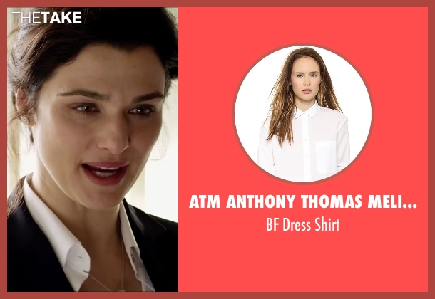ATM Anthony Thomas Melillo white shirt from Youth seen with Rachel Weisz (Lena Ballinger)