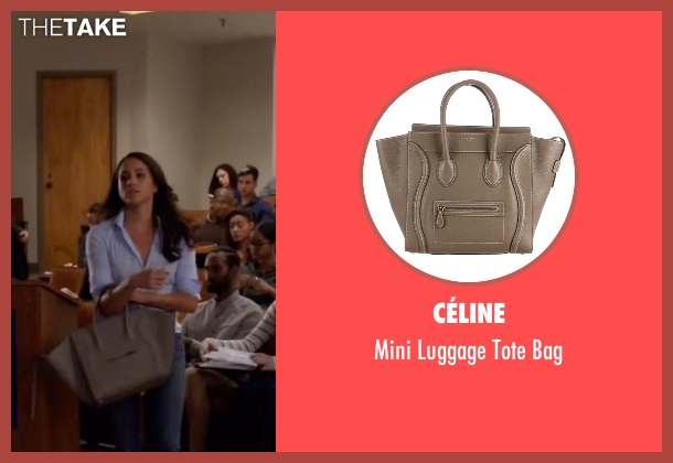Céline  beige bag from Suits seen with Rachel Zane (Meghan Markle)