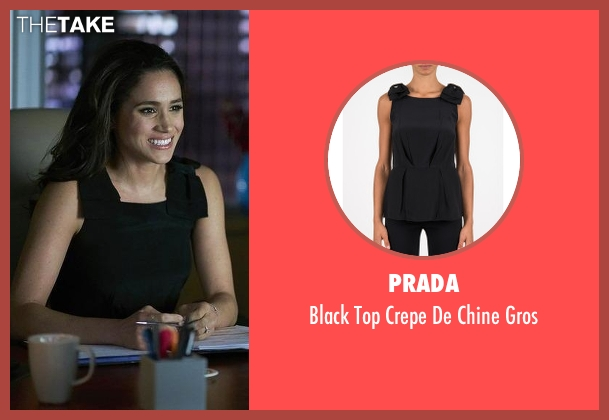 Prada black gros from Suits seen with Rachel Zane (Meghan Markle)