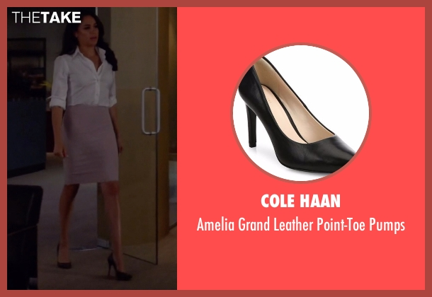Cole Haan black pumps from Suits seen with Rachel Zane (Meghan Markle)