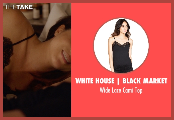 White House | Black Market black top from Suits seen with Rachel Zane (Meghan Markle)