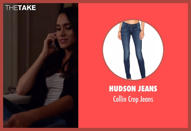 Hudson Jeans blue jeans from Suits seen with Rachel Zane (Meghan Markle)