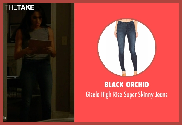 Black Orchid blue jeans from Suits seen with Rachel Zane (Meghan Markle)