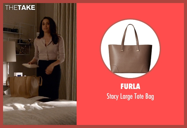 Furla brown bag from Suits seen with Rachel Zane (Meghan Markle)