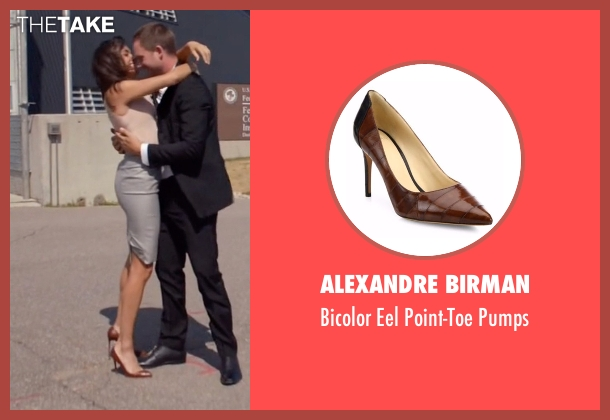 Alexandre Birman brown pumps from Suits seen with Rachel Zane (Meghan Markle)