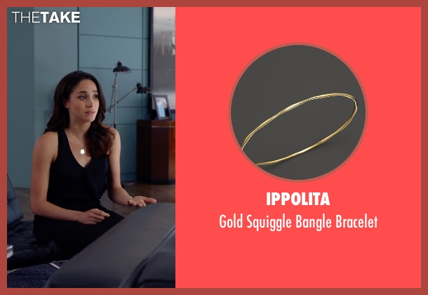 Ippolita gold bracelet from Suits seen with Rachel Zane (Meghan Markle)