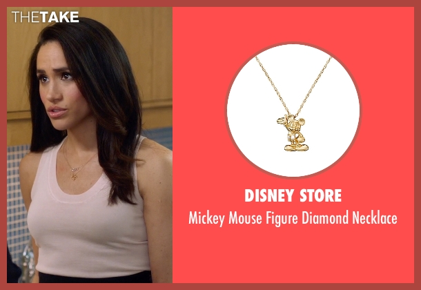 Disney Store gold necklace from Suits seen with Rachel Zane (Meghan Markle)