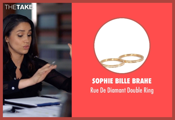 Sophie Bille Brahe gold ring from Suits seen with Rachel Zane (Meghan Markle)