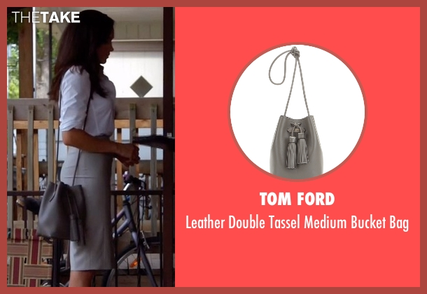 Tom Ford gray bag from Suits seen with Rachel Zane (Meghan Markle)