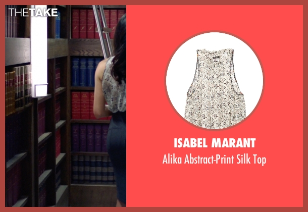 Isabel Marant top from Suits seen with Rachel Zane (Meghan Markle)