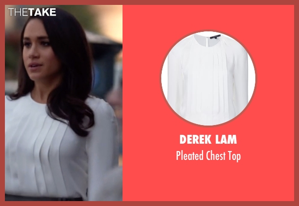 Derek Lam  white top from Suits seen with Rachel Zane (Meghan Markle)