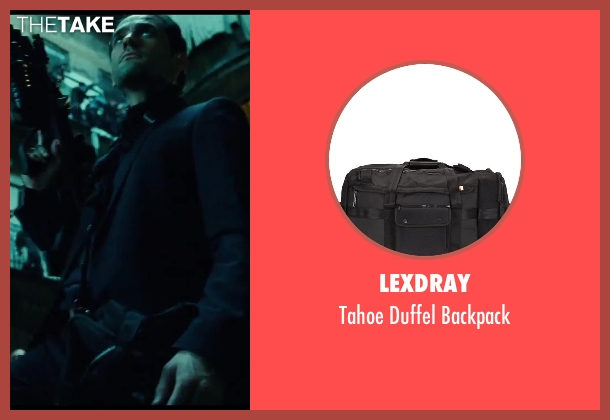 Lexdray black backpack from A Good Day to Die Hard seen with Radivoje Bukvic (Alik)
