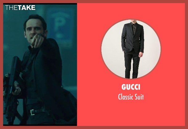 Gucci black suit from A Good Day to Die Hard seen with Radivoje Bukvic (Alik)