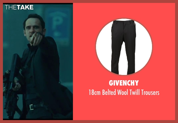Givenchy black trousers from A Good Day to Die Hard seen with Radivoje Bukvic (Alik)