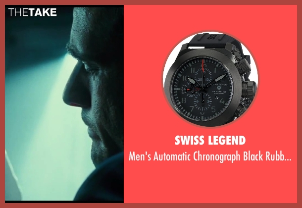 Swiss Legend black watch from A Good Day to Die Hard seen with Radivoje Bukvic (Alik)