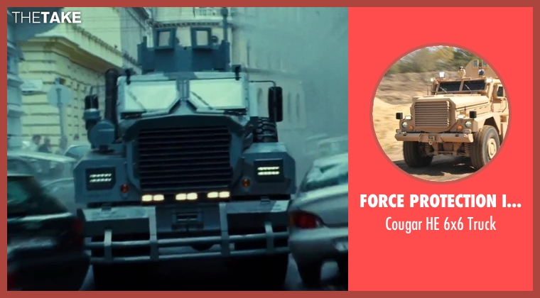 Force Protection Industries truck from A Good Day to Die Hard seen with Radivoje Bukvic (Alik)